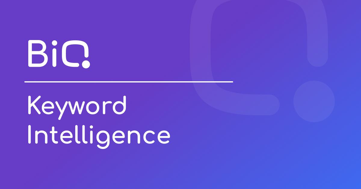 Keyword Intellegence - BiQ