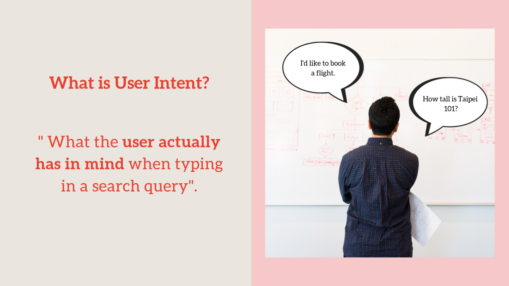 What and why user intent is important in SEO