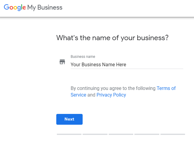 Create Google My Business profile for your local SEO