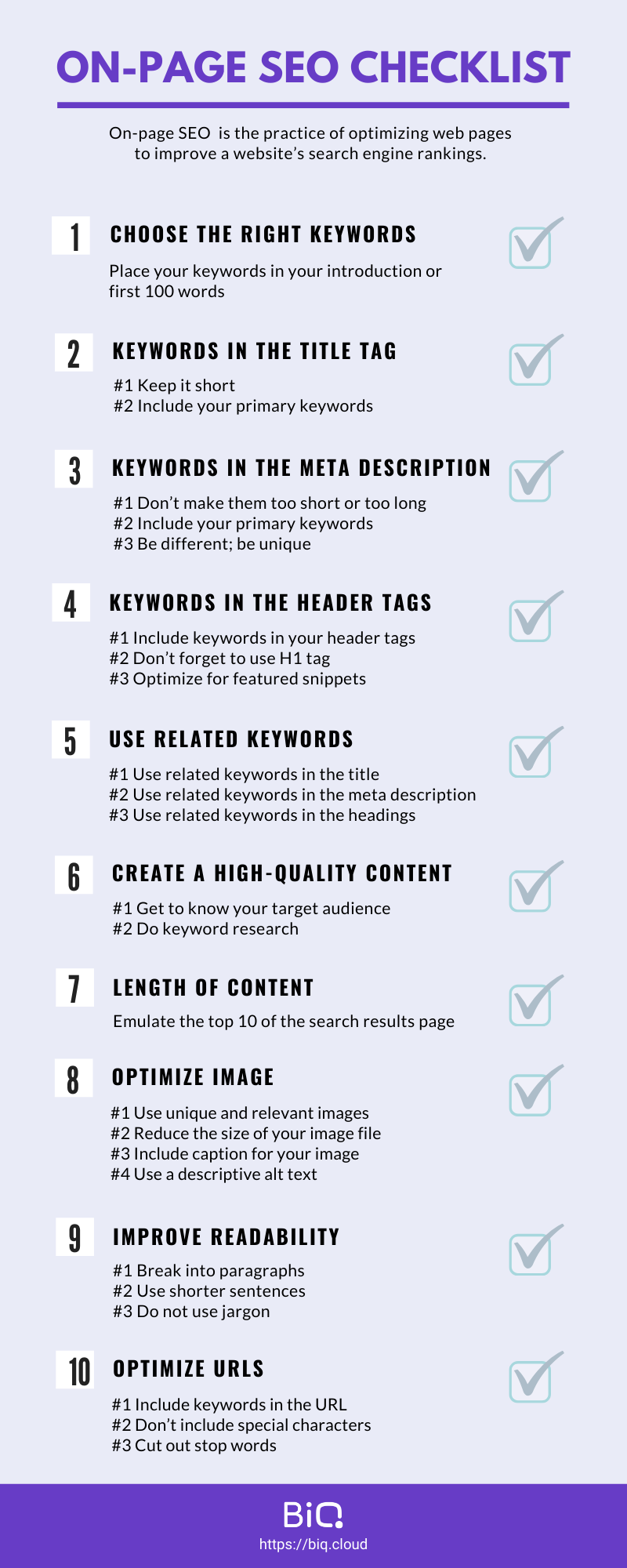 The complete on-page SEO guide in 2020 : on-page SEO checklist