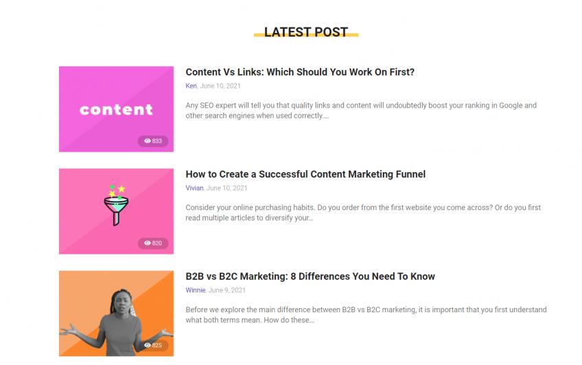 blog post examples BiQ blog