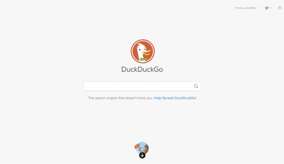 DuckDuckGo Top Rated Search Engine