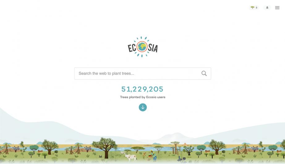 Ecosia Top Search Engine