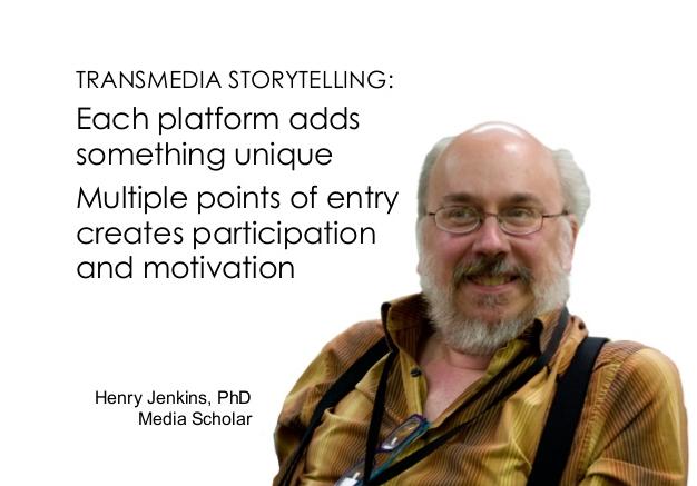 Henry Jenkins - Transmedia storytelling