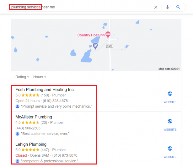 Ranking with the right keywords in Google My Business