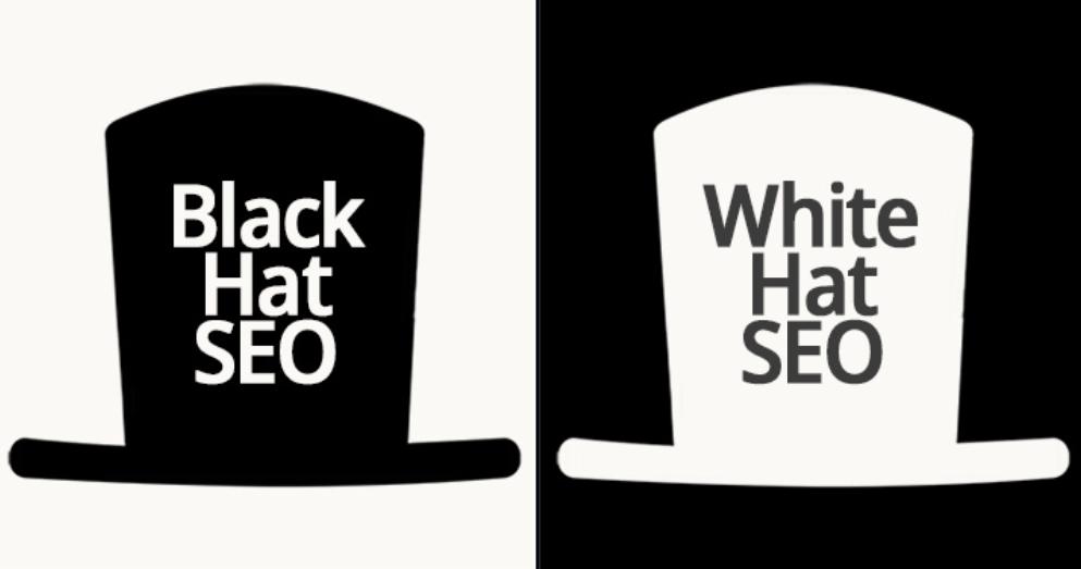 white and black hat seo