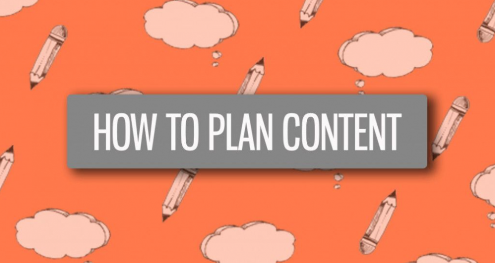 how to plan ideas for content writing