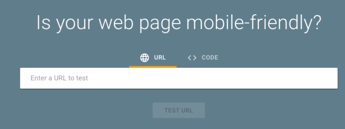 google mobile-friendliness on-page seo