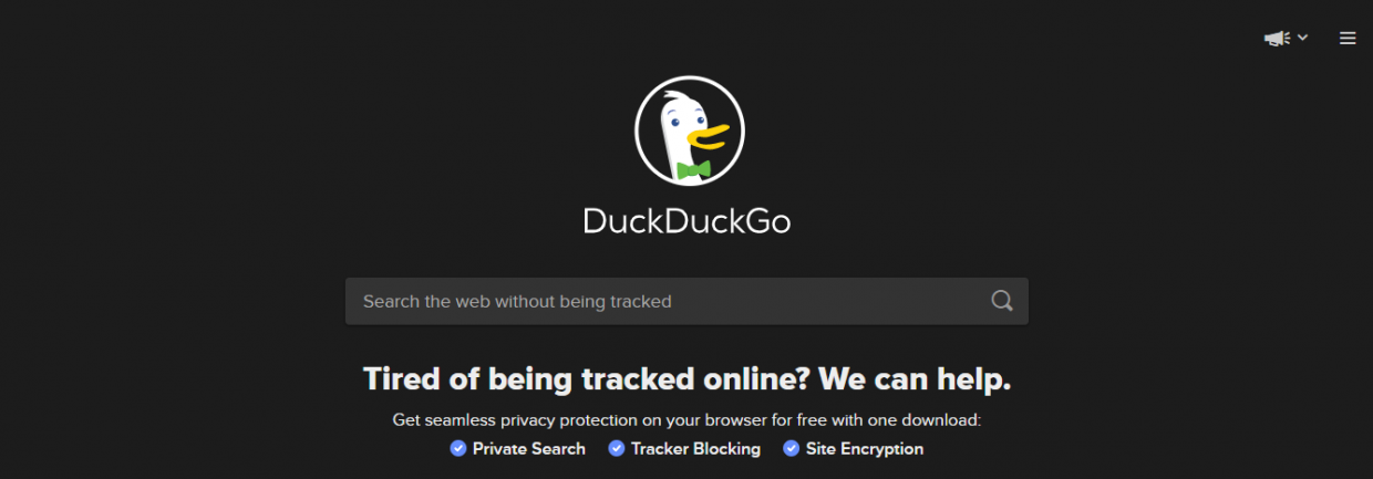 submit your website to search engines - duckduckgo