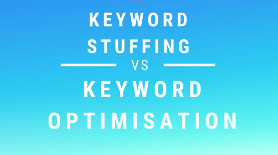 keyword stuffing vs keyword optimization
