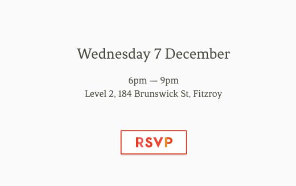 RSVP invitation emails