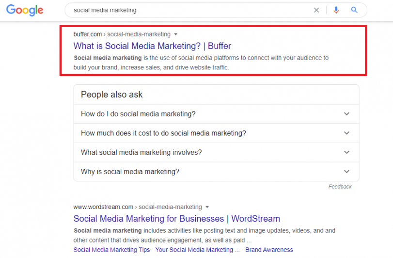 off-page seo technique - content marketing