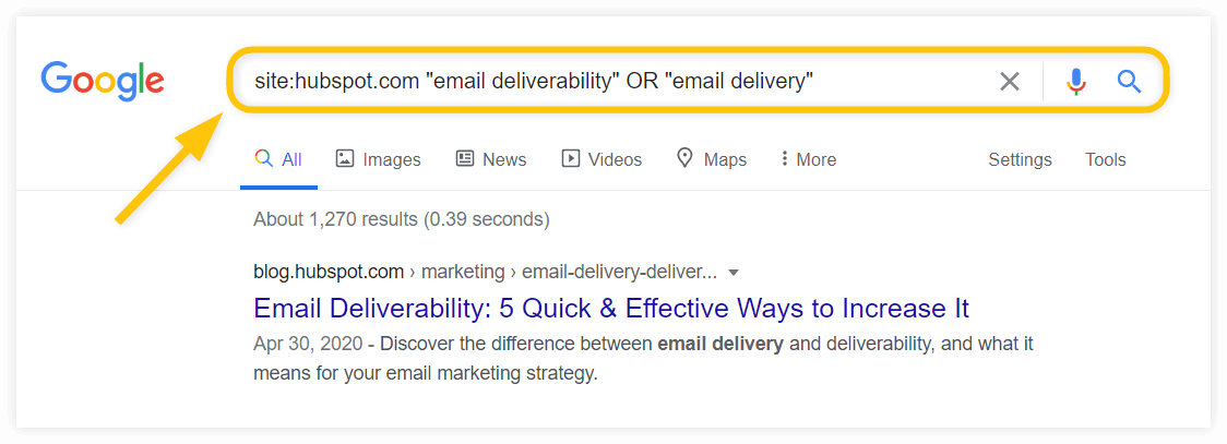 Description: or directive example 2