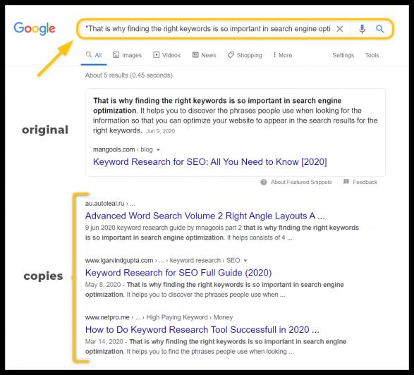 """google advanced search operators - """" """""""