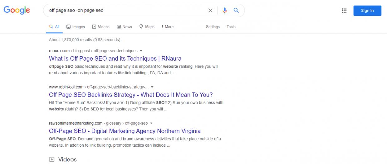 Google advanced search operators - -
