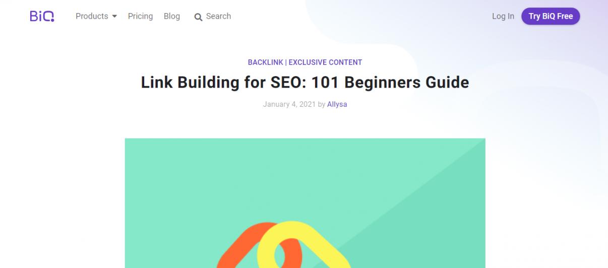 beginner's guide - blog post template