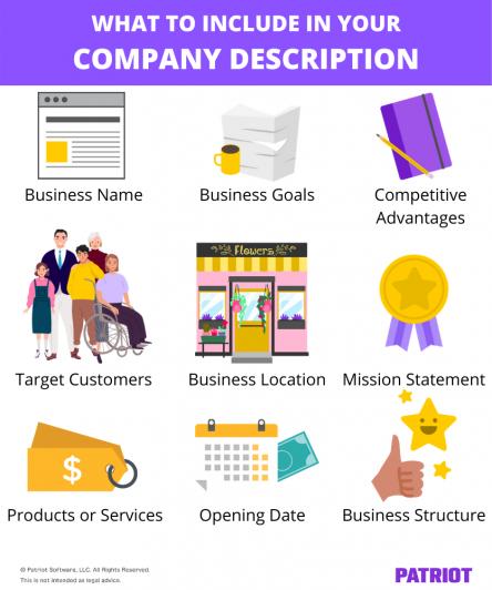 company description - executive summary