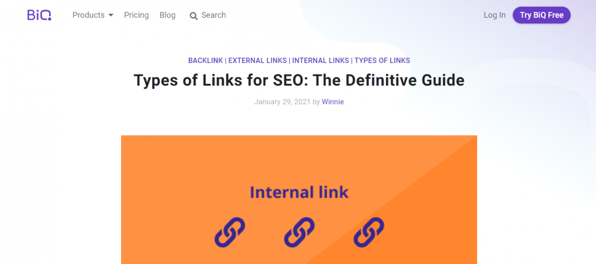 Guides as a Linkable Asset