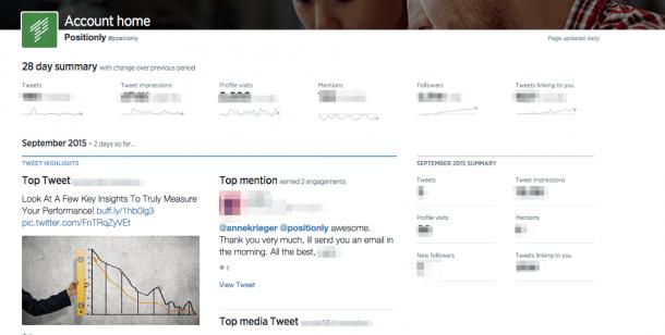 twitter analytics screen