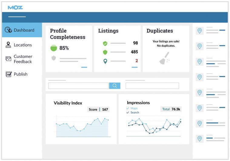 check your local citations with Moz