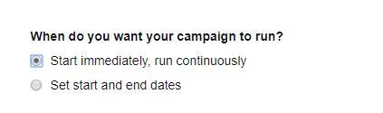 Campaign Date