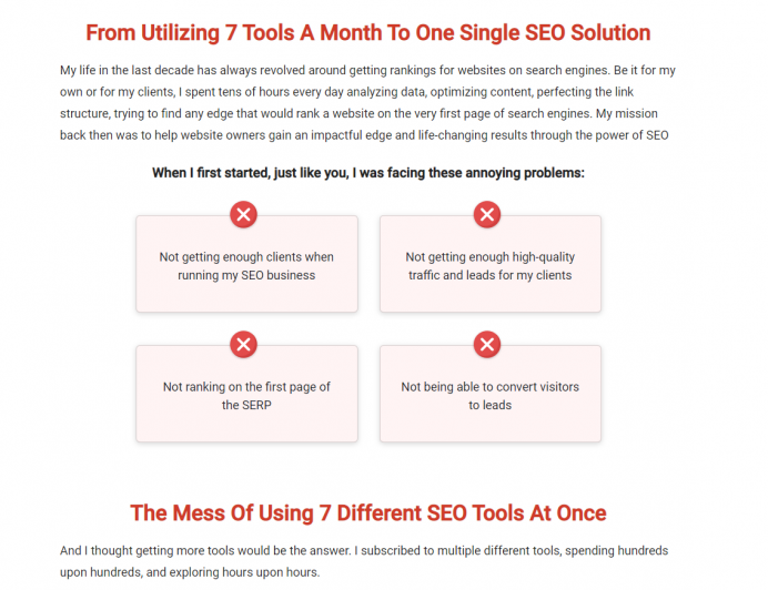Use the power of storytelling to reduce bounce rate