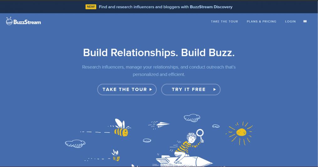 blogger outreach tool -  BuzzStream