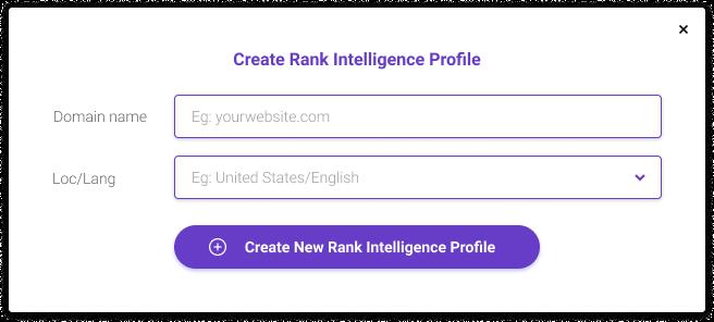 Link building tools - BiQ's Rank Intelligence