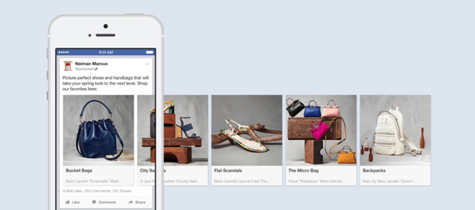 Type of Facebook Ads: Carousel Ad