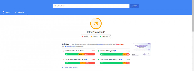 SEO friendly web design tool