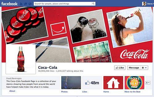 Facebook Business Page Examples Coca Cola