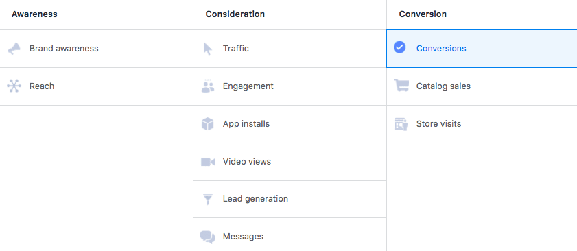 Pick an Objective for Your Facebook Ad Campaign