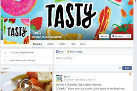 Facebook Business Page Examples Buzzfeed's Tasty