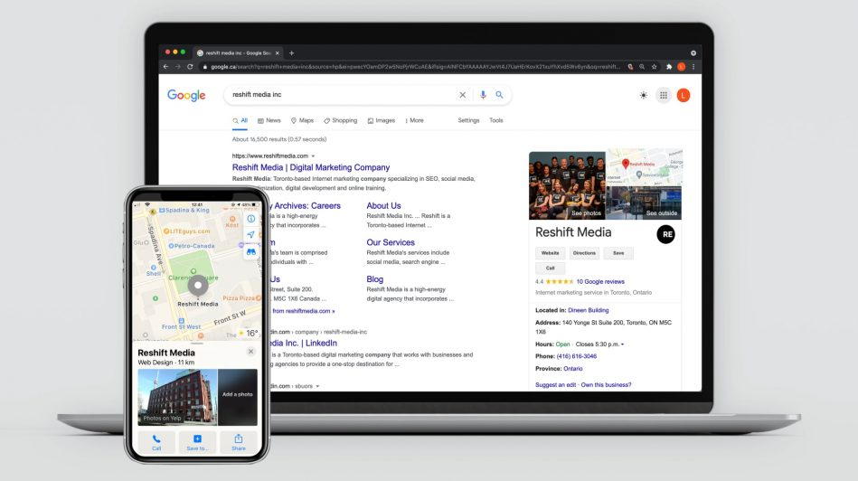 Why To Update Google My Business | Reshift Media Inc
