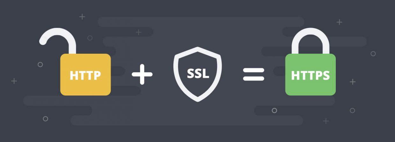 HTTP + SSL = HTTPS image