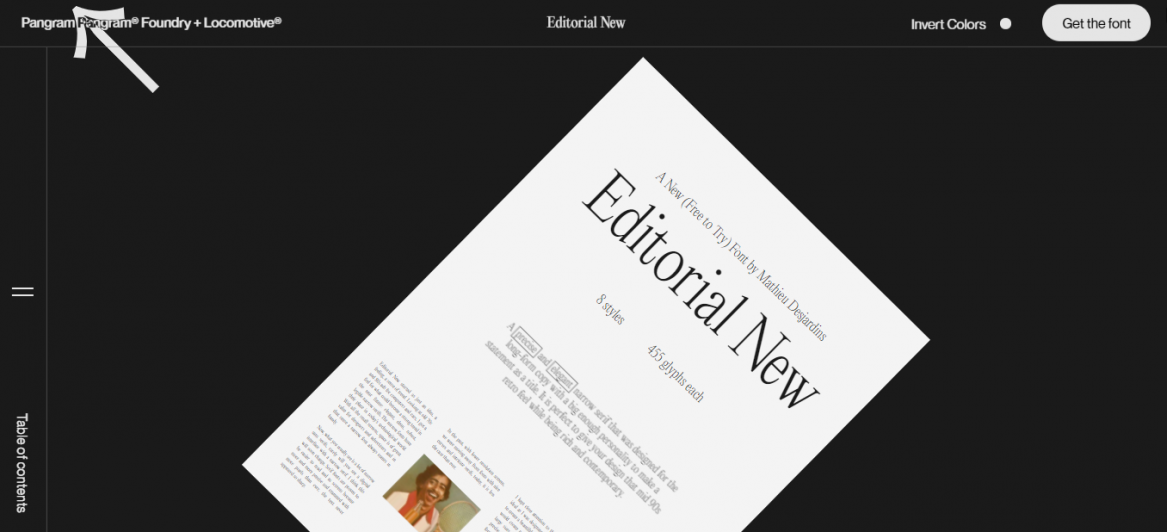 Interactive content from Editorial New