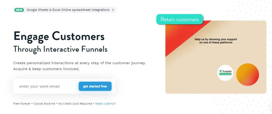Interactive platform provider involve.me