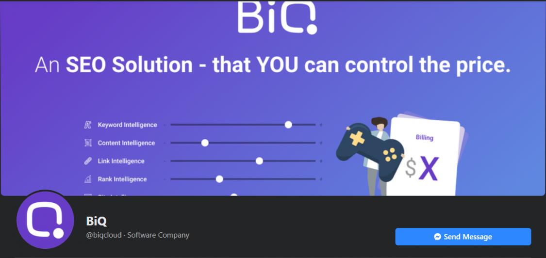 BiQ Facebook page