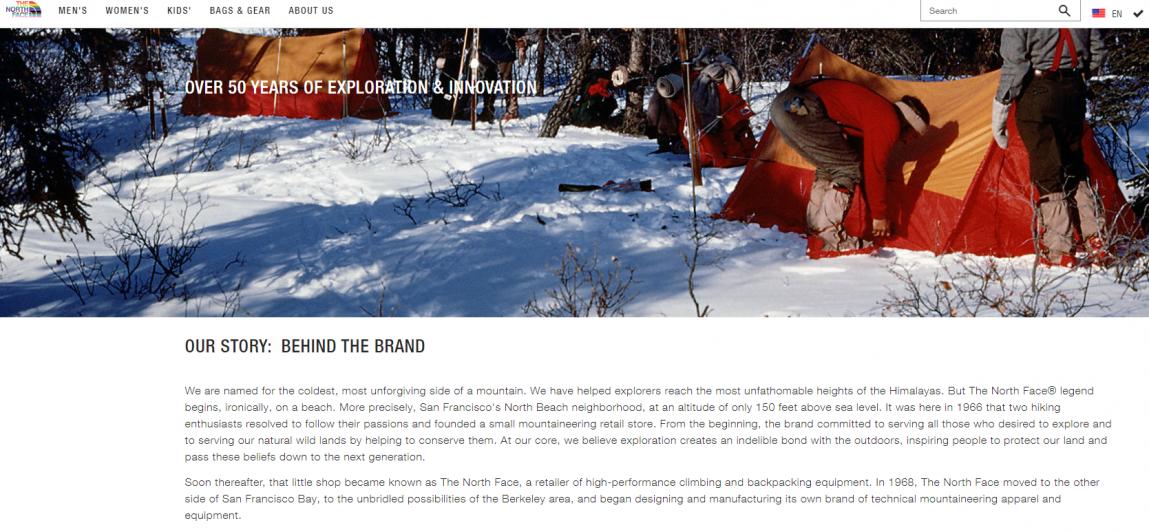 Blog post ideas : Tell a brand story