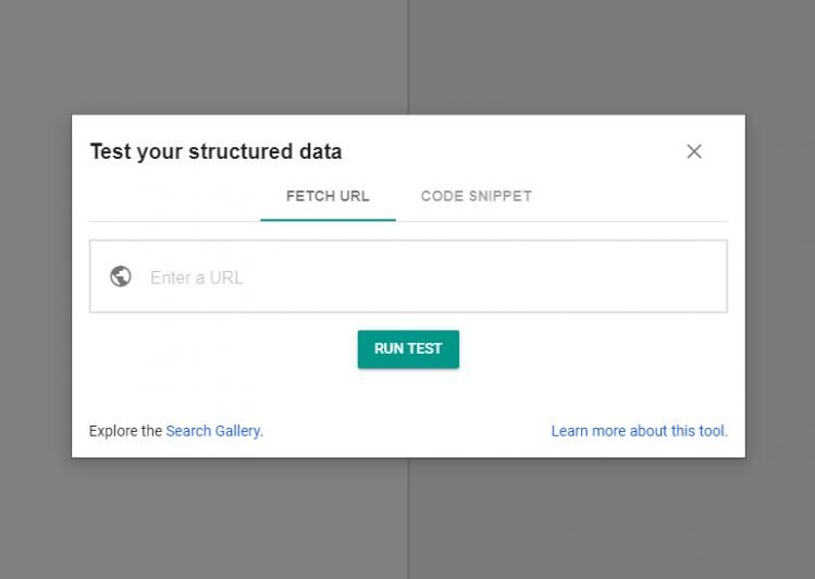 schema testing tool by Google, Google schema markup tool