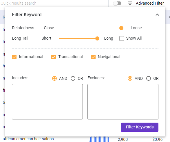 boost ctr with keyword research