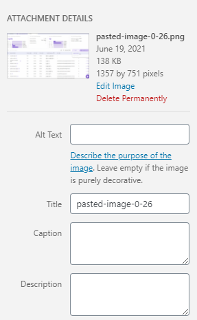 Best blog practice: Add alt text for images