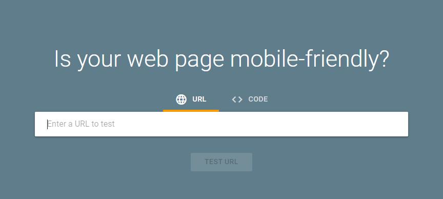 best mobile-friendly website tools -Google Mobile Site Test