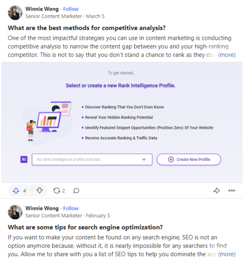 Blogging Mistakes 3 - Use Quora space to target the right audience