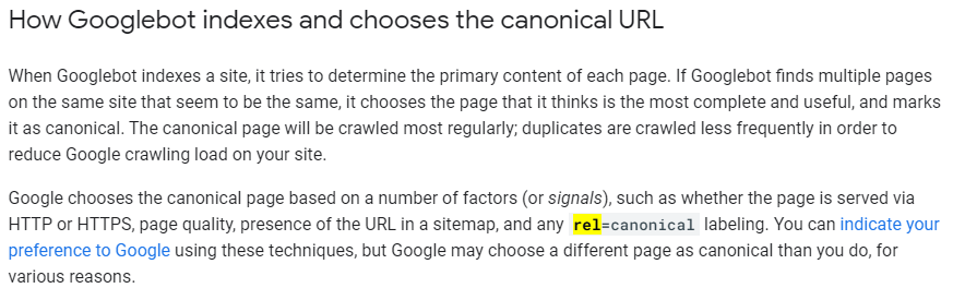 Add rel=canonical tag to remove duplicate content