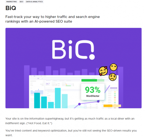 Marketing lessons 7: build a community example from BiQ x Appsumo collaboration