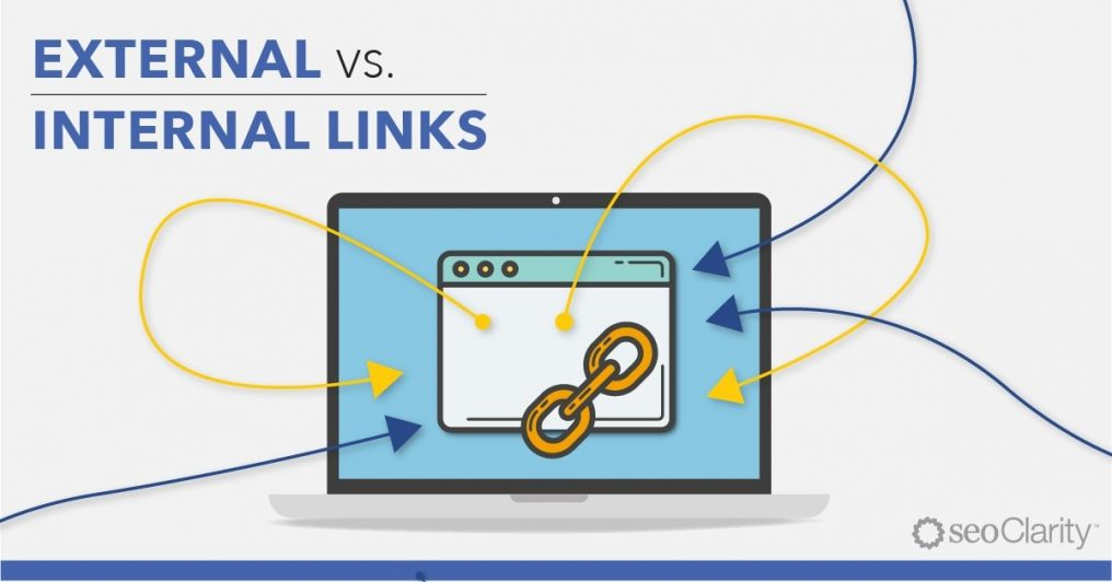Internal link vs external link