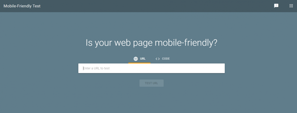 Check for your site's mobile-friendliness at https://search.google.com/test/mobile-friendly