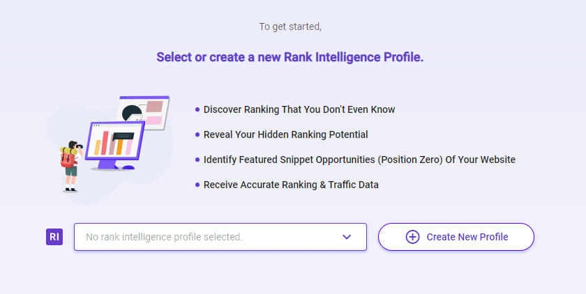 You may use BiQ Rank Tracking to help you discover the content gap between your site and that of your competitors.