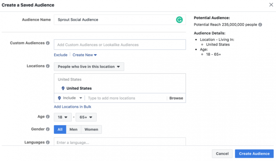 Targeted to Your Ideal Audience is one of the best practices Facebook ads
